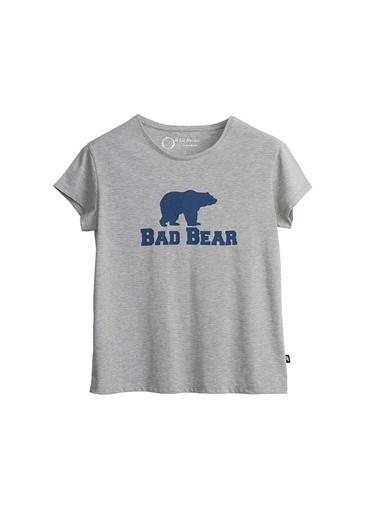 Bad Bear Tişört Gri